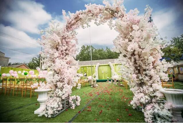 农村森系婚礼现场布置效果图分享展示