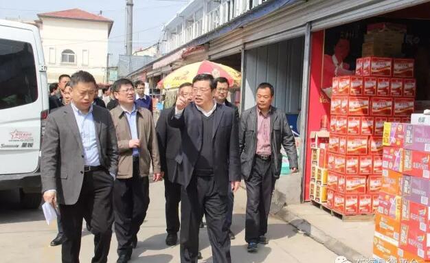 县长高美峰对东海城区国家卫生县城创建情况进行摸底排查